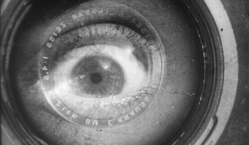 "The final shot of ""Man with a Movie Camera,"" dir. Dziga Vertov, 1929."