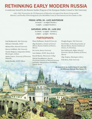 Event Poster Rethinking Russia