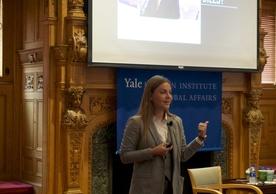 Olena Sotnyk, 2019 World Fellow